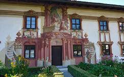 Oberammergaui ház,Bajorország