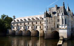 a Chenoncheaux-i kastély,Franciaország