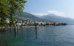 Locarno, Lago Maggiore tó  Olaszország