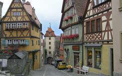 Rothenburg ob der Tauber a Plönlein