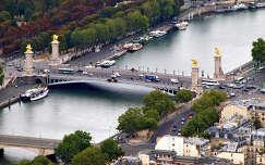 látkép az Eiffel-toronyból,Párizs,Franciaország