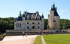 a Chenonceaux-i kastély,Franciaország
