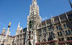 A müncheni Új városháza,Bajorország