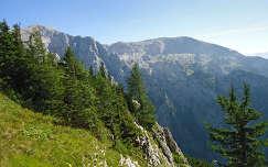 Látkép a Berchtesgadeni Sasfészeknél, Bajorország