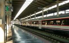 Córdoba-Spain, The A.V.E train at the station