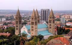 Pécs, Kálvária melletti kilátóból