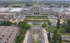 Brüsszel,Kilátás az Atomiumból a Nemzetközi vásárra,Belgium
