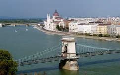 Budapesti látkép a budai várból