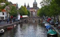 Amsterdam, Oudezijds Voorburgwal-Church of St.Nicholas