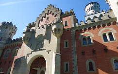 Neuschwanstein kastély,Bajorország