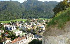 Kufstein városa a várból - Tirol