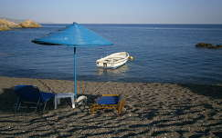Kakkos Bay Hotel strandja, dél-kelet Kréta.
