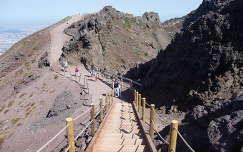 A Vezúv krátere, Olaszország