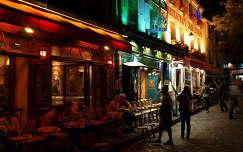 a Montmartre éjjel,Párizs,Franciaország
