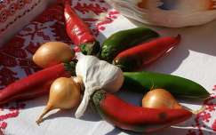Zöldség dekoráció