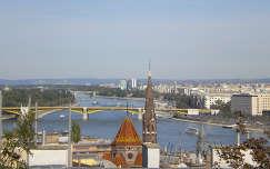 Budapest látkép a Margit híddal