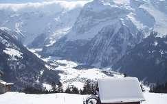 Téli táj - Engelberg, Svájc