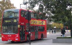 Emeletes busz Londonban