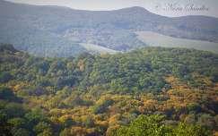 Hollókői táj ősszel
