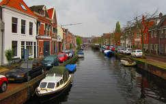 Haarlem, Holland, Burgwal