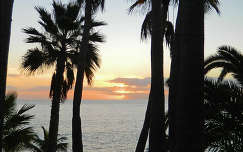 Tenerife, naplemente
