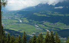 Schwaz és az Inntal, Tirol, Ausztria
