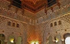 Sevilla, Spanje, El Real Alcazar, Sala de los Embajadores. MADE BY ELLY HARTOG