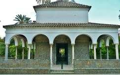 Sevilla-SPAIN, Jardines del Real Alcázar