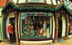 Karácsonyi bolt, Stratford, Anglia