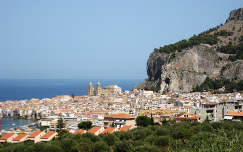 Cefalú, Szicília, Olaszország