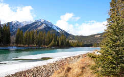 Bow River, Banff Nemzeti Park, Kanada