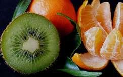 Kivi és mandarin