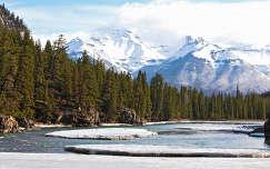 Bow folyó, Banff Nemzeti Park, Kanada