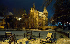 Vajdahunyadvár télen, Fotó: Novák Titanilla