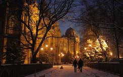 Romantika a Vajdahunyadvárnál Fotó: Novák Titanilla
