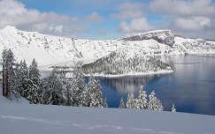 Kráter-tó Nemzeti Park, Oregon, USA