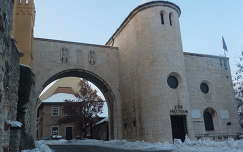 Veszprémi vár bejárata