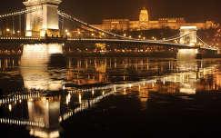 Jeges Duna, Budapest, Magyarország,Lánchíd