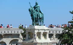 Szent Imre szobor -Budai vár