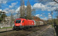 Tehervonat halad Rákosliget állomáson,Fotó:Szolnoki Tibor