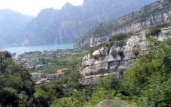 Garda tó-sziklák