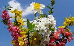 Tavaszi virágcsokor