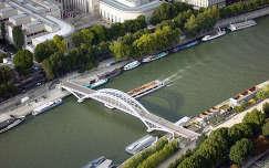 A Szajna és hídjai 324 méter magasból