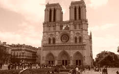 Notre-Dame, Párizs, Franciaország