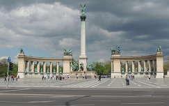 Budapest,Hősök tere