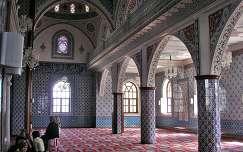 Mecsetbelső Törökországban