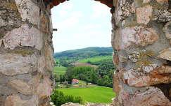 Kilátás a cseszneki várból
