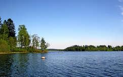 Finnország, tó