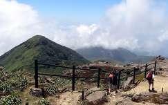 Karib tenger - Kis Antillak - Guadeloupe - La Souffriere vulkan