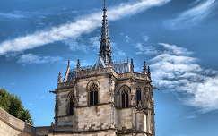 Amboise,Franciaország,Leonardo Da Vinci sírhelye,Dynamic Photo HDR 5